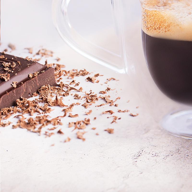 Káva a čokoláda